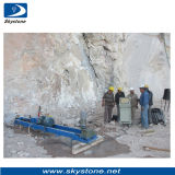 Uso della macchina del trivello di memoria di Horizntal in cava di marmo da vendere
