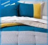 Litte cuadrícula de 3 piezas de la cubierta de edredón de cama (set)
