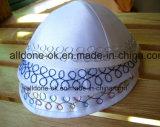 結婚祝いのクリスマスのユダヤ人の帽子のサテンのデイヴィッドの星のユダヤ教Kippah