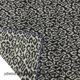 De Voorraad van de Stof van de Wol van de Jacquard van het Af:drukken van de luipaard