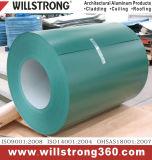 Bobine en aluminium enduite d'un préenduisage avec la diverse couleur