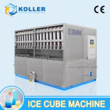 4 Machine van het Ijs van de Kubus van de ton/Dag de Commerciële met de Verpakking van Systeem