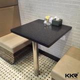 Kingkonree moderner quadratischer fester Oberflächenmarmorsteinbankett-Tisch