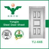 最もよい販売法によって押される鋼鉄ドアの皮