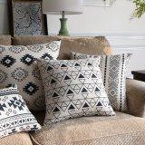 Almofadas decorativas de algodão de algodão de luxo para sofás