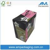 Caixa impressa fornecedores de empacotamento durável da caixa do papel de qualidade para bolinhos da padaria