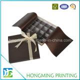 Schokoladen-Kästen mit Plastiktellersegmenten kundenspezifisch anfertigen