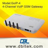 4つのチャネルGSM VoIPのゲートウェイかGoIP 4