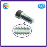 DIN/ANSI/BS/JIS Stainless-Steel Carbon-Steel/4.8/8.8/10.9 Hexgon intérieur galvanisé pour la construction de vis