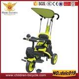 Uitstekende kwaliteit met de Driewieler van de Kinderen van de Staaf van het Handvat/de Wandelwagen van de Baby