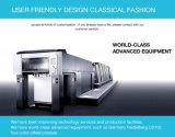 Ventilateur de main de carton personnalisé par logo de modèle de fabrication