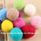Décoration pure de Noël de bille de feutre de laines en vrac à vendre