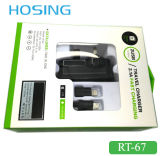 De dubbele 2.1A Snelle Lader van de Muur van de Snelheid USB voor Mobiele Telefoon