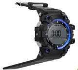 人間の特徴をもつ携帯電話のための工場デジタルSIMカードXr05の屋外の防水スポーツのBluetoothの新しくスマートな腕時計