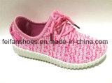 OEMの人の注入のズック靴のスポーツの履物の靴(FFCS111903)