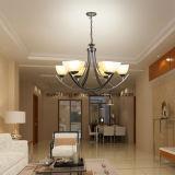 Forma moderna com a lâmpada do candelabro do pendente do Ce para a iluminação interna