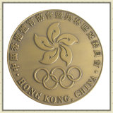Cheap Customized Sport Souvenir Laurel Wreath Pattern Badge Award Medal