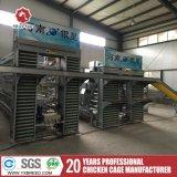 H de Type Gegalvaniseerde Apparatuur van het Gevogelte van het Landbouwbedrijf van de Batterijkooi van de Laag van de Kip