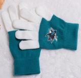Перчатки экрана касания зимы с логосом печати