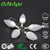 Lampadina della candela di C37 5W LED con Ce RoHS