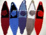 Nuevo Diseño 100% de la Oreja de Diadema tejida Warmer Neckwarmer bufanda turbante