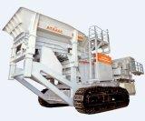 Tipo planta machacante de piedra móvil de la correa eslabonada con la alta capacidad (YT-250)