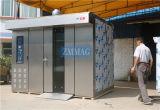 Vente rotatoire complètement automatique industrielle de gaz de machine de pain français de 16 plateaux (ZMZ-16M)