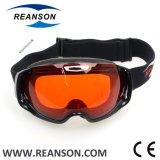 Lunettes principales molles professionnelles de ski de lentilles de double de marque de Reanson Frameless