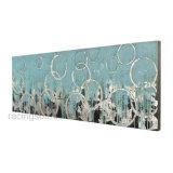 De met de hand gemaakte het Schilderen Abstracte Druk van de Kunst op Canvas voor de Decoratie van de Woonkamer