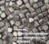 研摩発破媒体かステンレス鋼の打撃または鋼鉄打撃または鋼鉄屑または鋼球またはワイヤーか発破ワイヤー打撃またはアルミニウム切口ワイヤー打撃を切るために調節される