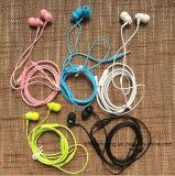 Fone de ouvido intra-auricular auxiliar de 3,5 mm para Samsung iPhone MP3 MP4 com controle remoto e microfone