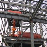 Vorfabrizierte Stahlaufbau-Gebäude für chemischen Verbrauch