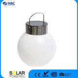 Lâmpada solar da esfera redonda que pendura a luz solar