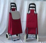 Sacchetto d'acquisto piegato multiuso leggero dei bagagli del carrello a ruote 2