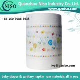 Breathable Baby Diaper Raw Materials Laminated Film Nonwoven 26GSM (LSR-07)