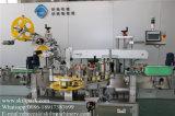 Parte superiore automatica della tazza ed etichettatrice dei lati del lato due