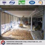 O ISO Certificated a construção de aço de dois andares para o mercado/loja/edifício