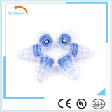 Auriculares de goma del silicio del OEM con el filtro