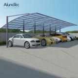 経済的なアルミニウムおおいの単一のCarportのポリカーボネートの屋根