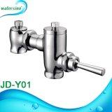 Pression latérale en laiton Bouton latéral Vanne de rinçage Délai temporel Valve de rinçage urinoir