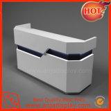Caja de madera mostrador de recepción de mobiliario para Tienda