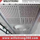 Folheado de alumínio com sistema da instalação