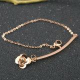 De Armband van het Roestvrij staal van de hete Vrouwen van de Charme van de Bloem van de Juwelen van de Manier Klassieke