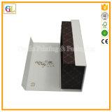 Rectángulo de regalo de encargo superior de la cartulina para el empaquetado de la ropa