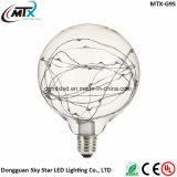 a corda decorativa da venda 2017 quente ilumina bulbos do diodo emissor de luz das luzes feericamente MTX do diodo emissor de luz das luzes do diodo emissor de luz do fio de cobre