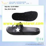 Fábrica de la estrella personalizada Comfort deslizador de los hombres de la sandalia de diapositivas