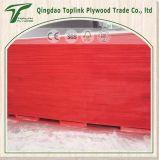 La madera contrachapada marina para la película del rojo de la construcción 21m m hizo frente a la madera contrachapada una vez caliente