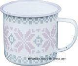 구른 변죽을%s 가진 Colorfull 장식 디자인 사기질 컵