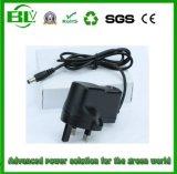 Caricabatteria personalizzato alta qualità 12.6V1a all'alimentazione elettrica per la batteria dello Li-ione con il cavo di alimentazione personalizzato