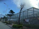 작업장을%s 난간 벽 Prefabricated 가벼운 강철 구조물